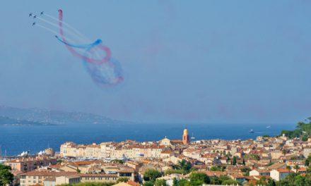 Le ballet aérien des Ailes de Saint-Tropez