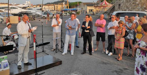 Image 2 - Inauguration du dispositif nocturne des Bateaux verts