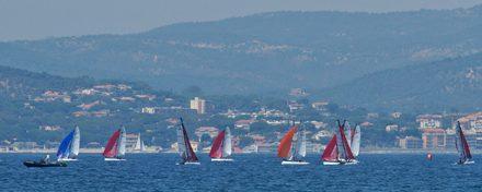 Mondial de catamaran : le Tropézien Sinbad Champroux au pied du podium