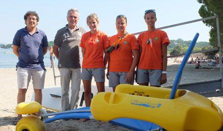 La commune veille à la sécurité sur ses plages