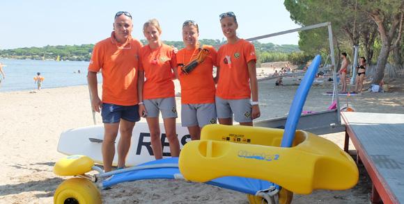 Image 2 - La commune veille  à la sécurité sur ses plages