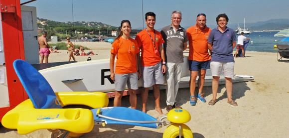 Image 5 - La commune veille à la sécurité sur ses plages