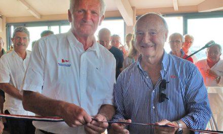 Le club-house de la Société nautique inauguré