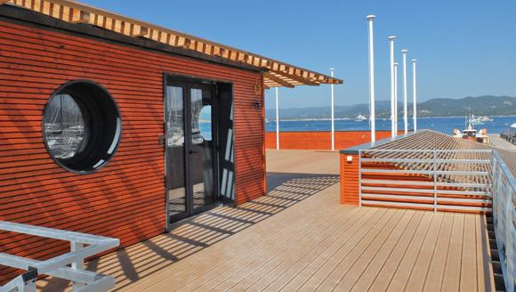 Image 5 - Le club-house de la Société nautique inauguré