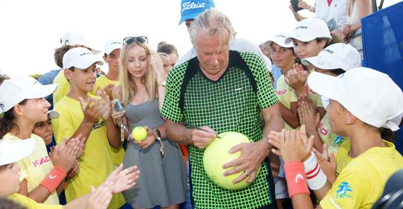 Image 9 - Un Classic tennis tour franco-russe