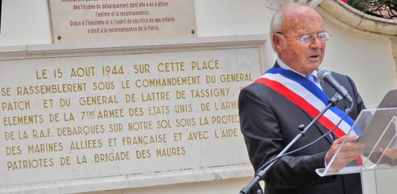 Image 2 - 15 août : retour en images sur le 71e anniversaire du débarquement en Provence