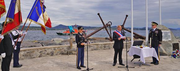 Image 6 - 15 août : retour en images sur le 71e anniversaire du débarquement en Provence