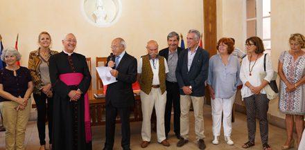 Réception : un bel hommage à Mgr Michel Hayes