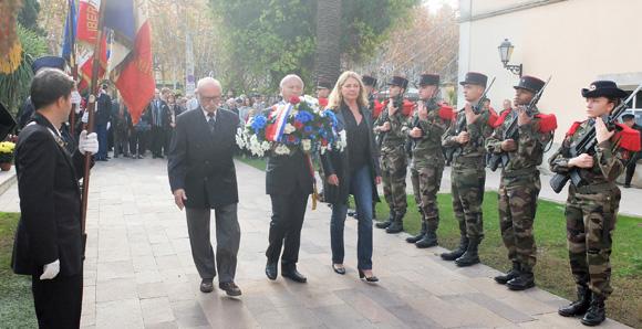 Image 8 - 11 novembre : « La paix se mérite et ne peut se construire qu'ensemble »
