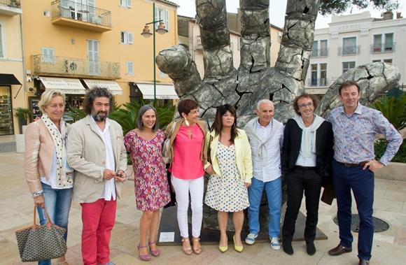 Image 2 - Le colossal de retour à Saint-Tropez avec Bernard Bezzina