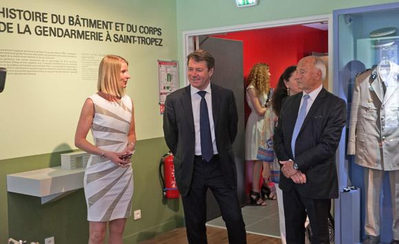 Image 14 - Inauguration du musée de la Gendarmerie et du Cinéma de Saint-Tropez