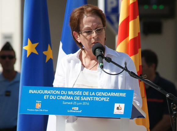 Image 11 - Inauguration du musée de la Gendarmerie et du Cinéma de Saint-Tropez