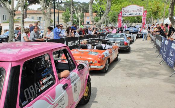 Image 2 - Le Rallye des Princesses est arrivé  à Saint-Tropez