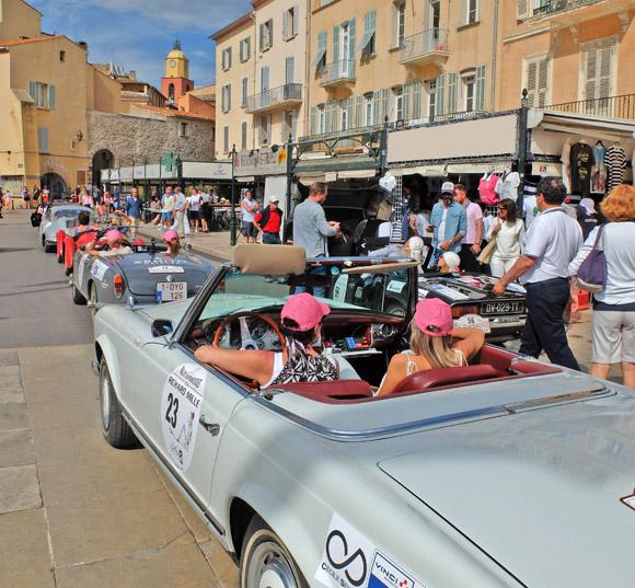 Image 3 - Le Rallye des Princesses est arrivé  à Saint-Tropez