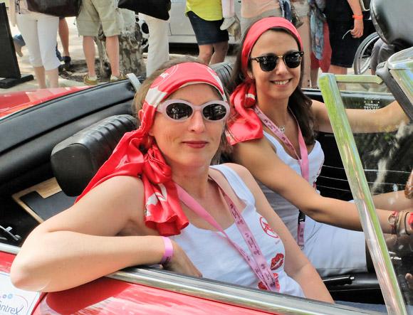 Image 6 - Le Rallye des Princesses est arrivé  à Saint-Tropez