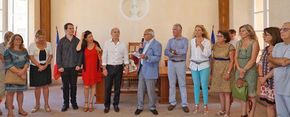 Image 2 - La municipalité honore Maurice Vallotti