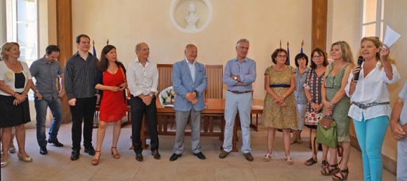 Image 3 - La municipalité honore Maurice Vallotti