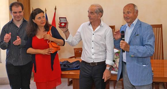 Image 4 - La municipalité honore Maurice Vallotti