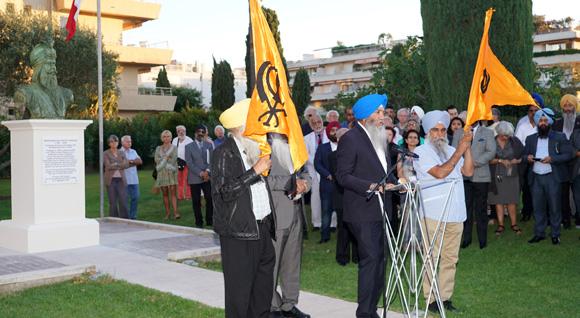 Image 12 - Hommage à Ranjit Singh : l'Etat du Pendjab offre un buste à la ville