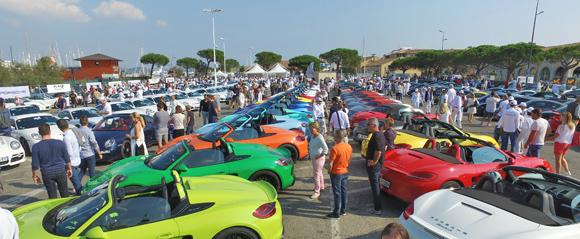Les Porsche au paradis tropézien