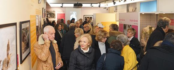 Image 2 - Forte affluence à l'inauguration de l'exposition Brigitte Bardot, samedi 4 février