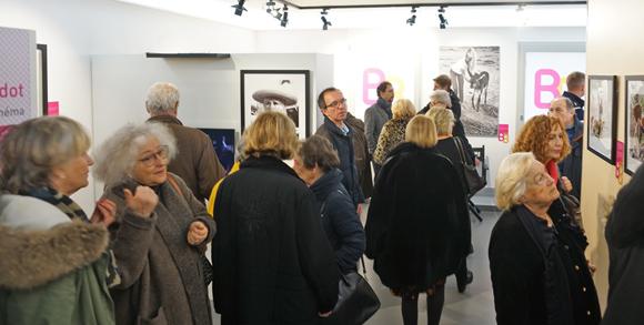 Image 4 - Forte affluence à l'inauguration de l'exposition Brigitte Bardot, samedi 4 février