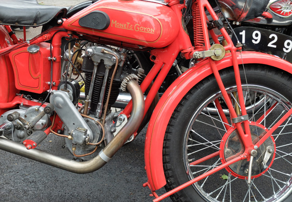 Image 5 - La 24e édition du Rétropézien, rassemblement de motos anciennes