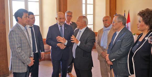Image 2 - Tourisme : une délégation du Kazakhstan à Saint-Tropez