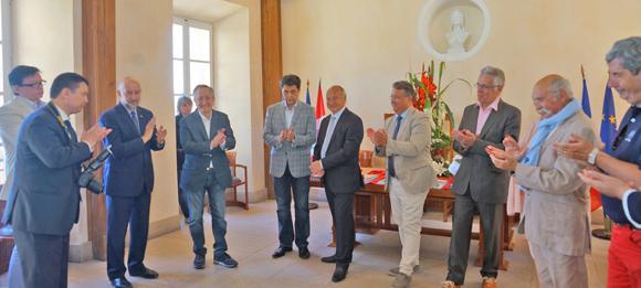 Image 3 - Tourisme : une délégation du Kazakhstan à Saint-Tropez