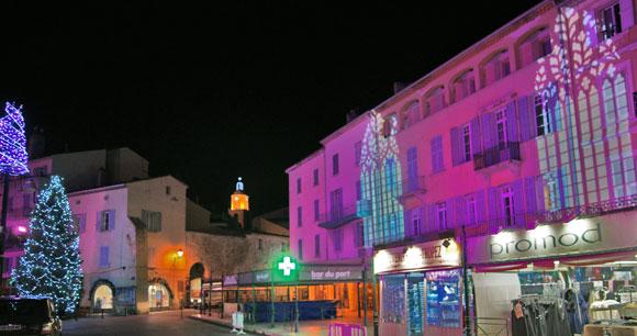 Image 4 - Les plus belles images de Noël à Saint-Tropez !