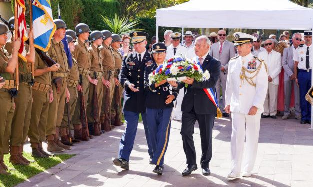 75e anniversaire du débarquement de Provence et de la libération de Saint-Tropez