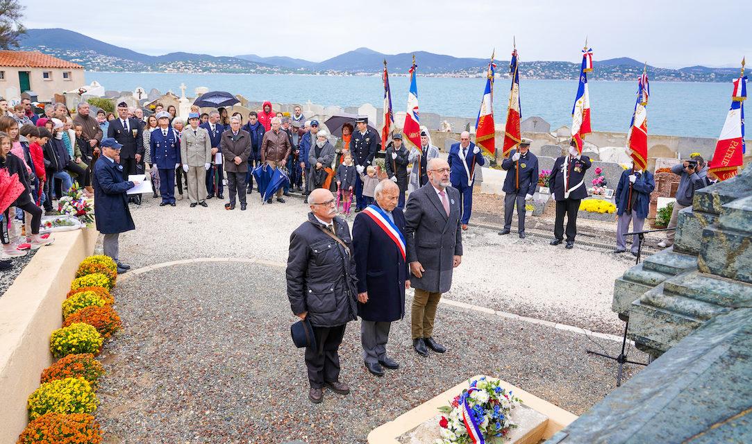 11 novembre : les jeunes Tropéziens ont participé aux cérémonies