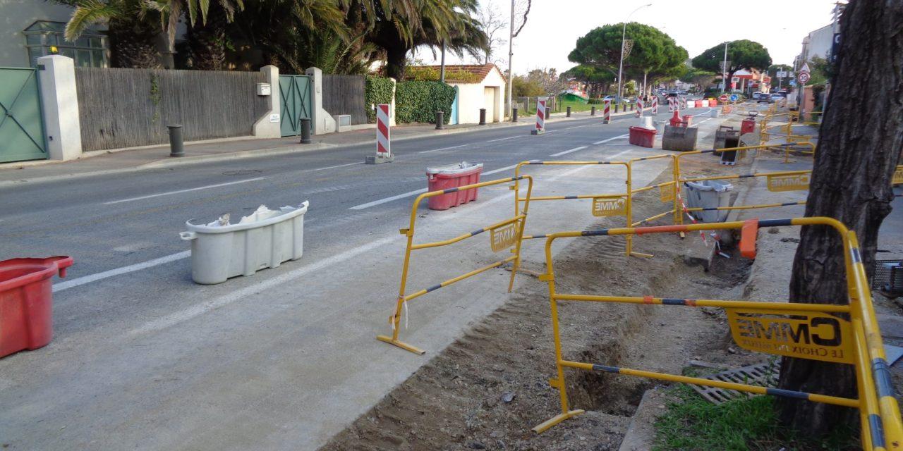 L'entrée de ville en travaux jusqu'au 18 décembre
