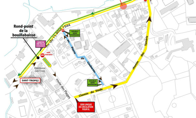 Travaux d'assainissement : l'entrée de ville fermée à la circulation à partir du lundi 25 janvier