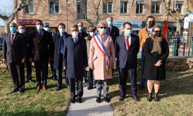 L'AMBASSADEUR DE L'INDE EN FRANCE EN VISITE A SAINT-TROPEZ