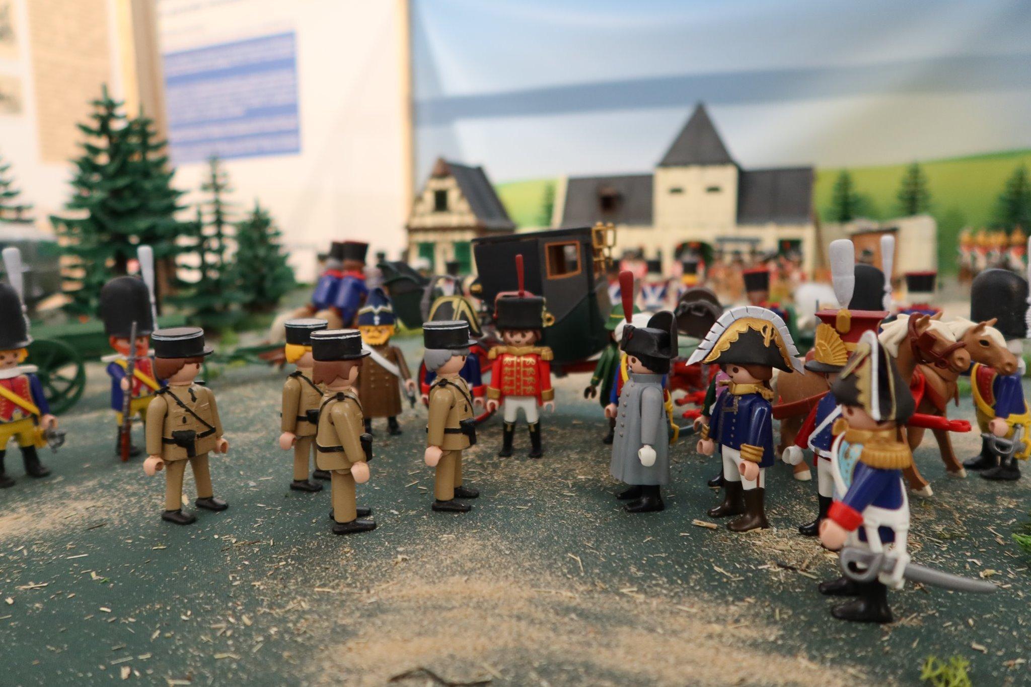 Exposition Napoléon en Playmobil