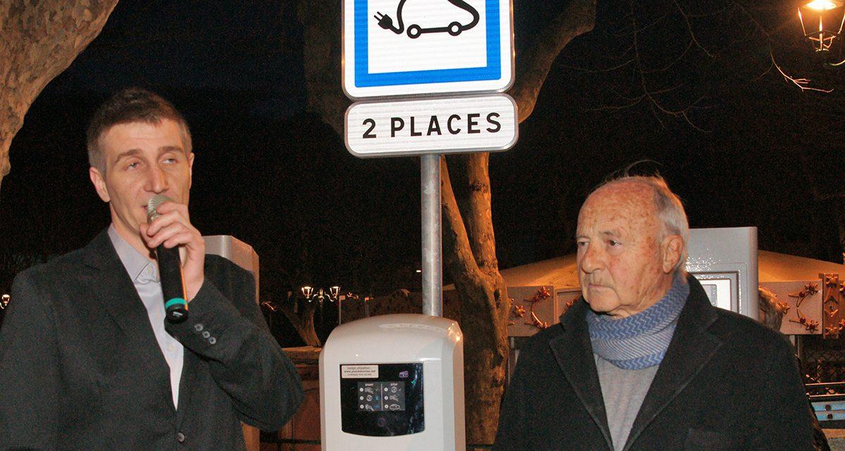 Des bornes électriques pour charger vos véhicules
