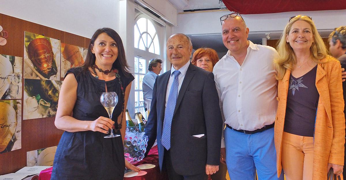 Le salon du vin de Saint-Tropez