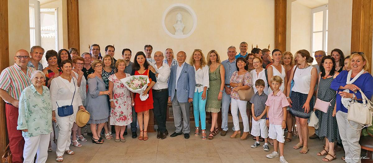 La municipalité honore Maurice Vallotti