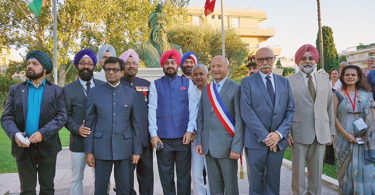 Hommage à Ranjit Singh : l'Etat du Pendjab offre un buste à la ville