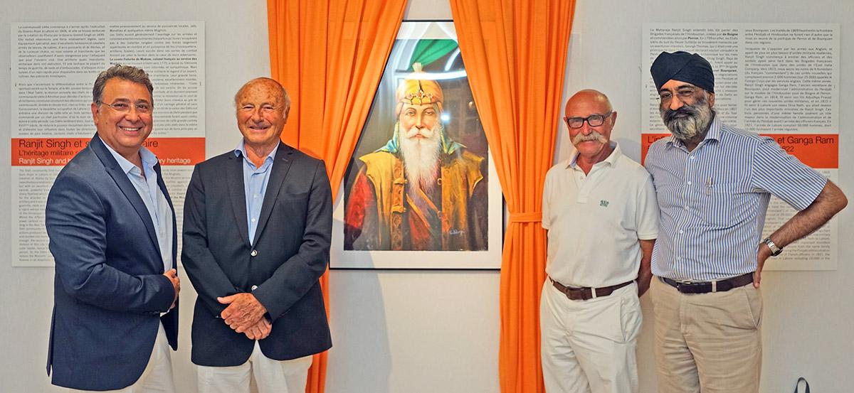 Exposition « Hommage au maharajah Ranjit Singh, et religion sikhe »