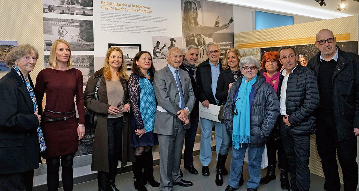 Forte affluence à l'inauguration de l'exposition Brigitte Bardot, samedi 4 février