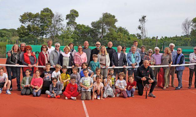 Rénovation des courts du centre de tennis municipal Pierre-Philippot