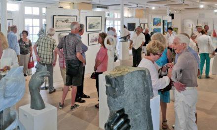Salon des peintres et sculpteurs de Saint-Tropez 2018