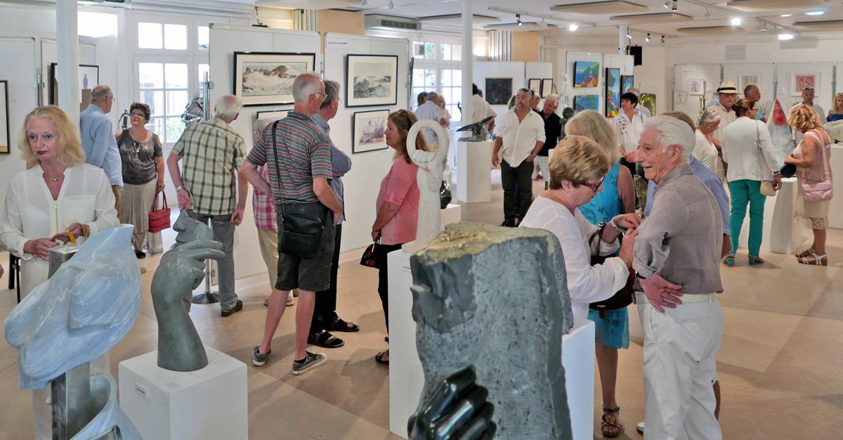 Salon des peintres et sculpteurs de Saint-Tropez 2019