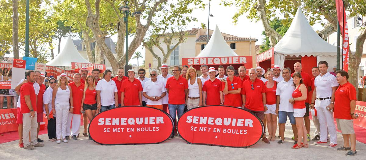 """Trophée de pétanque """"Sénéquier"""""""