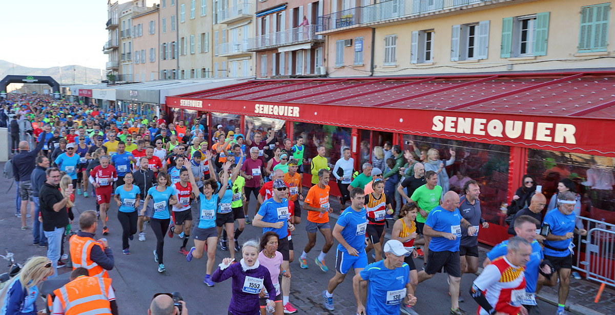 Saint-Tropez Classic 2017 : 1600 coureurs venus braver les kilomètres