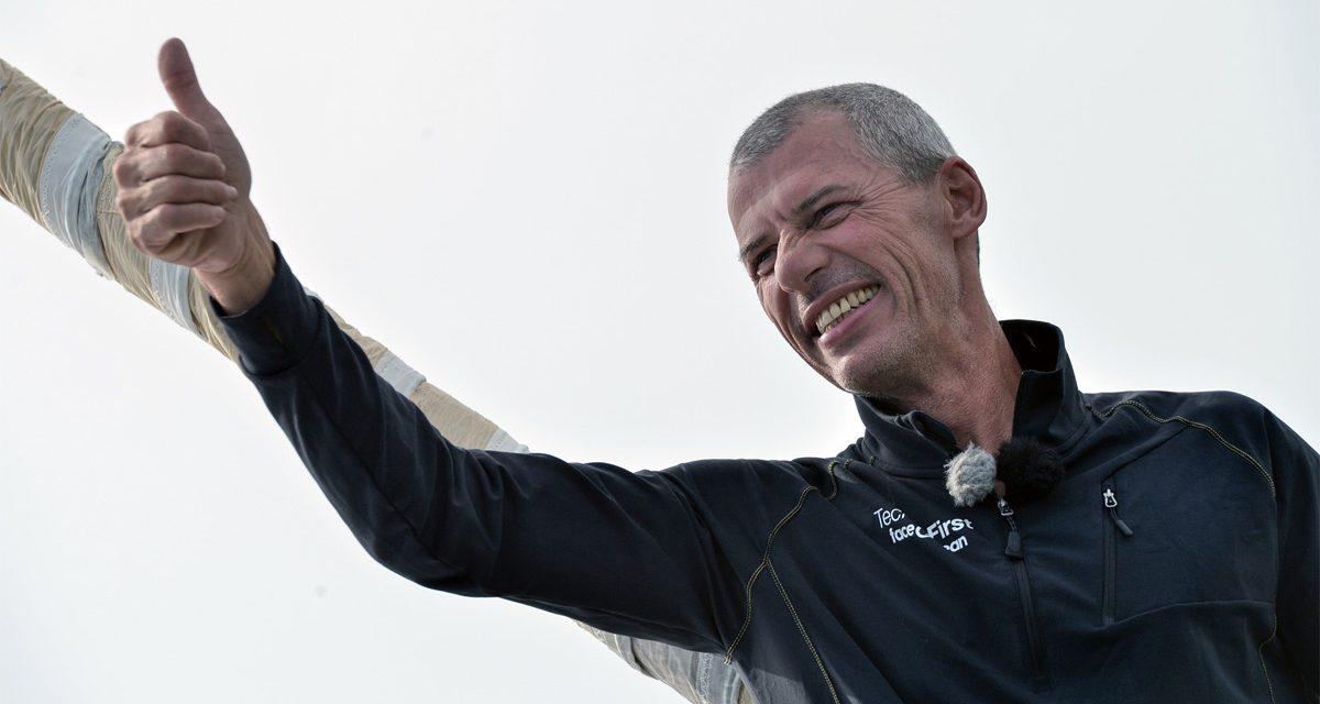 Séance dédicace avec le navigateur Sébastien Destremau