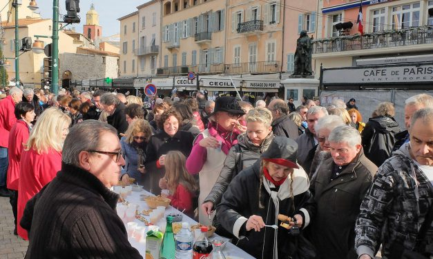 Noël à Saint-Tropez : grande anchoïade