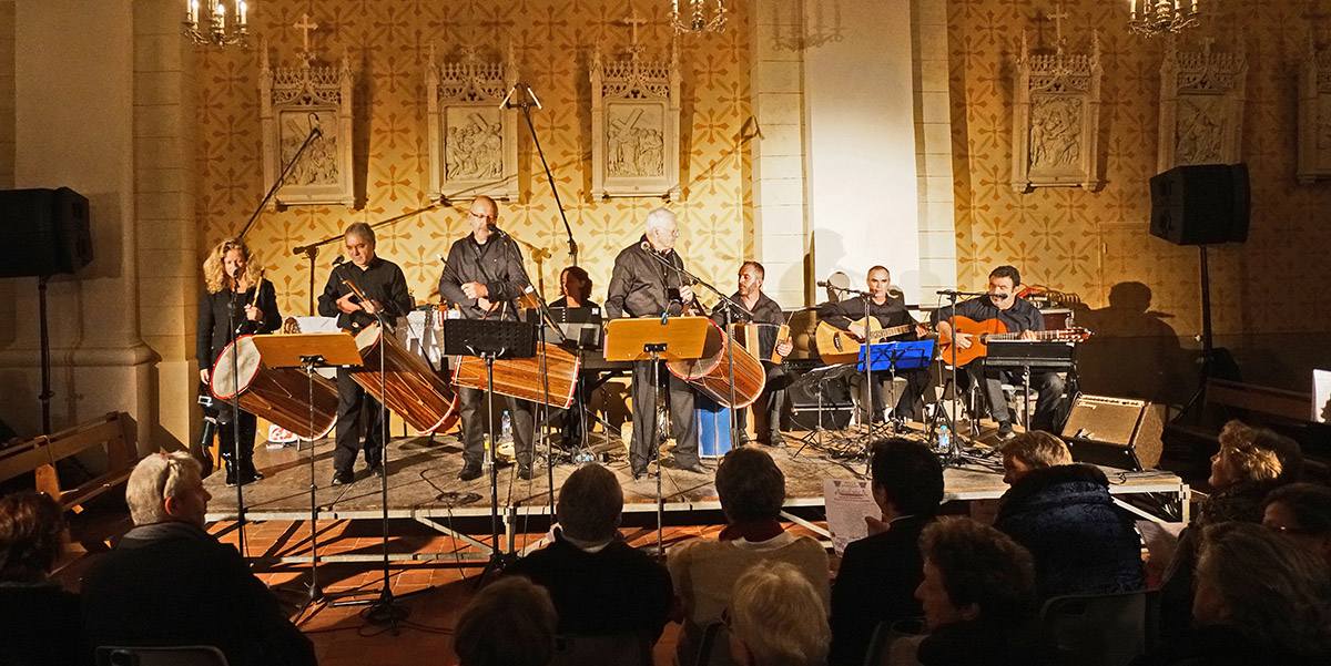 Le concert de noël de Bàrri Nòu